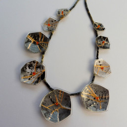 Eclectic Monochrome necklace, price guide £125