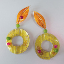 fruit cocktail earrings. Price guide  £75.