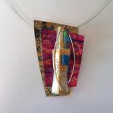 Retrangle 'Troika' necklace price guide £52