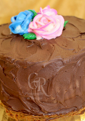 Spring Cake - Chocolate Buttercream