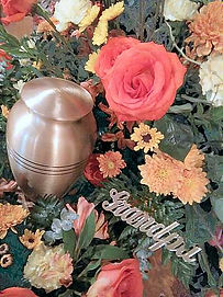 Cremation Memorial Flowers