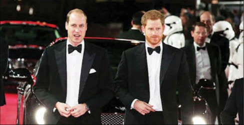 Sale a la luz qué se dijeron los príncipes William y Harry en el funeral de su abuelo