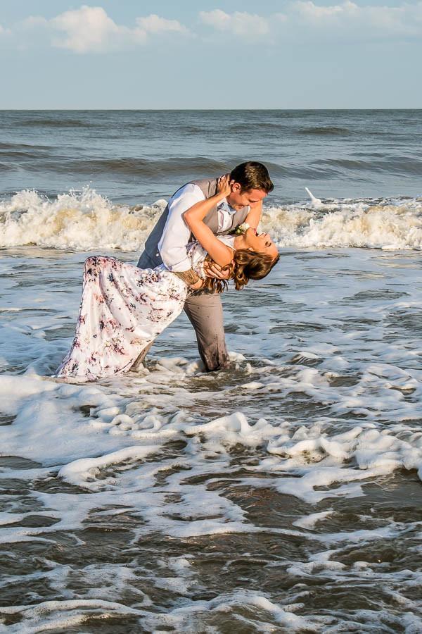 fun beach wedding photos charleston sc