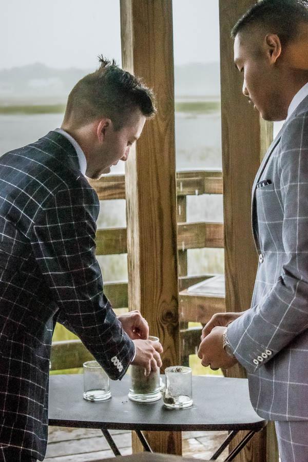 gayelopement same sex wedding charleston sc