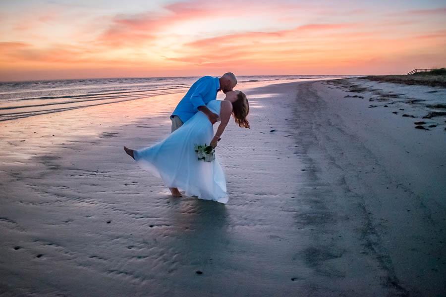 sunrise beach elopement charleston sc