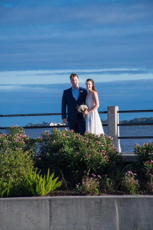 elopement at battery park charleston