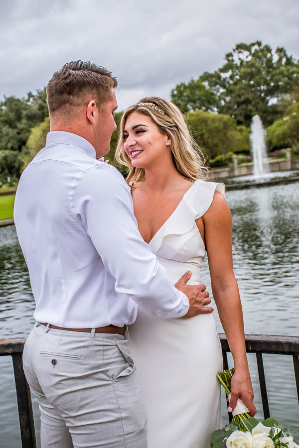 romantic elopement in Charleston SC