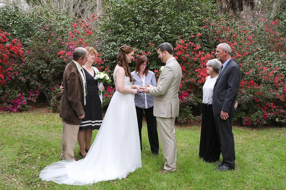 charleston sc elopement ceremony