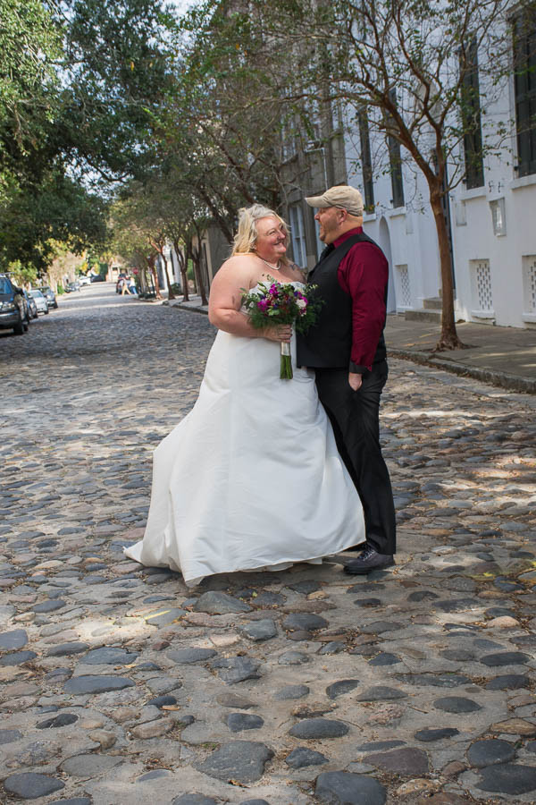 downtown charleston elopement package