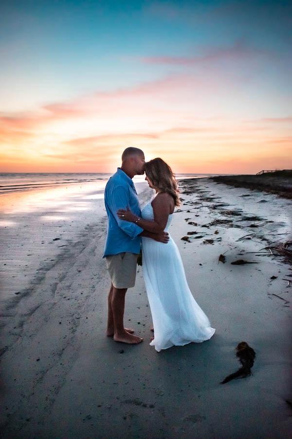 sunrise beach elopement isle of palms sc