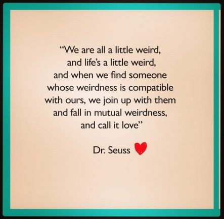Dr Suess quote on love for wedding vows
