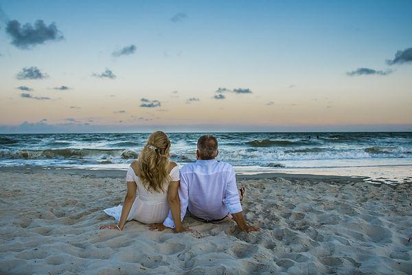 sunset beach elopement package sc