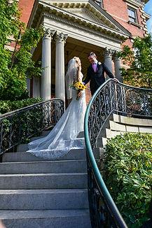 elopement at wentworth mansion in charleston sc