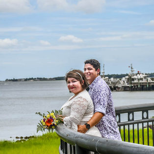 Overlook Charleston Harbor