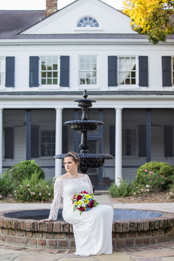 bridal portrait by legare waring house
