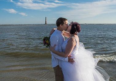 folly beach elopement charleston beach elopement package