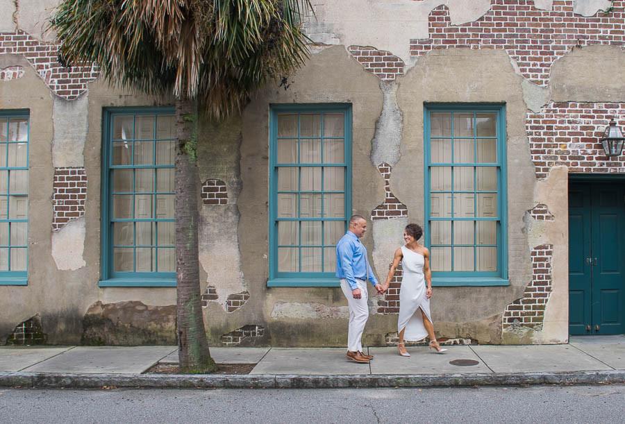 downtown charleston elopement