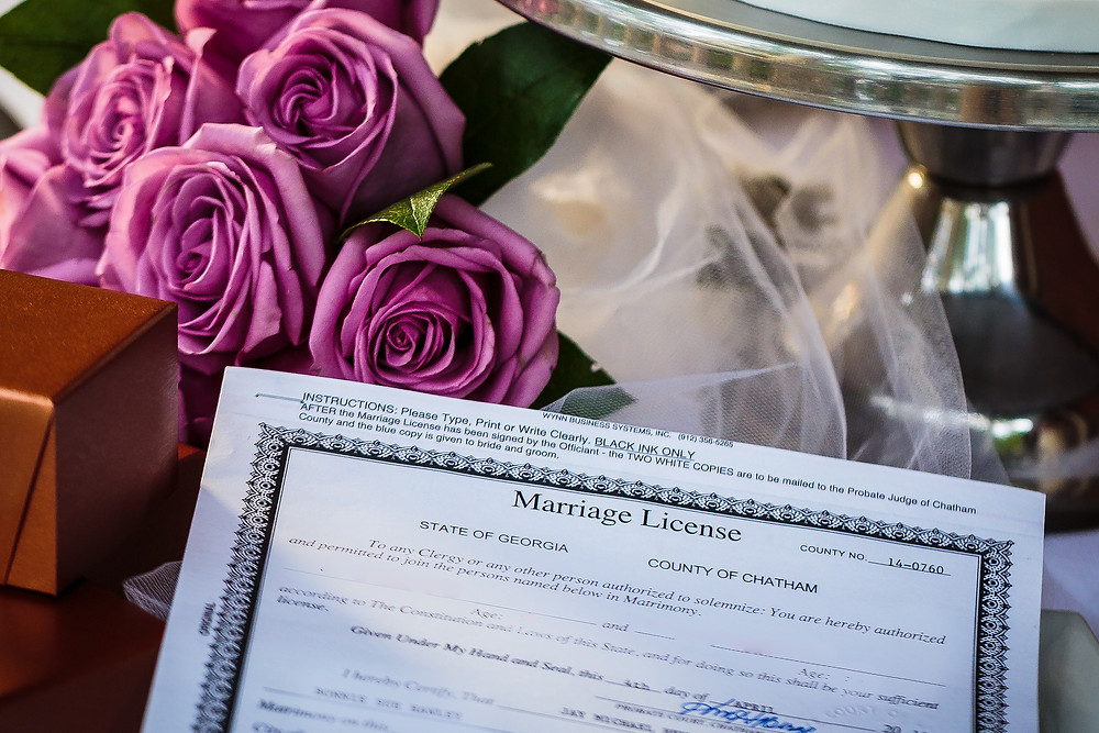 what is needed to apply for sc marriage license