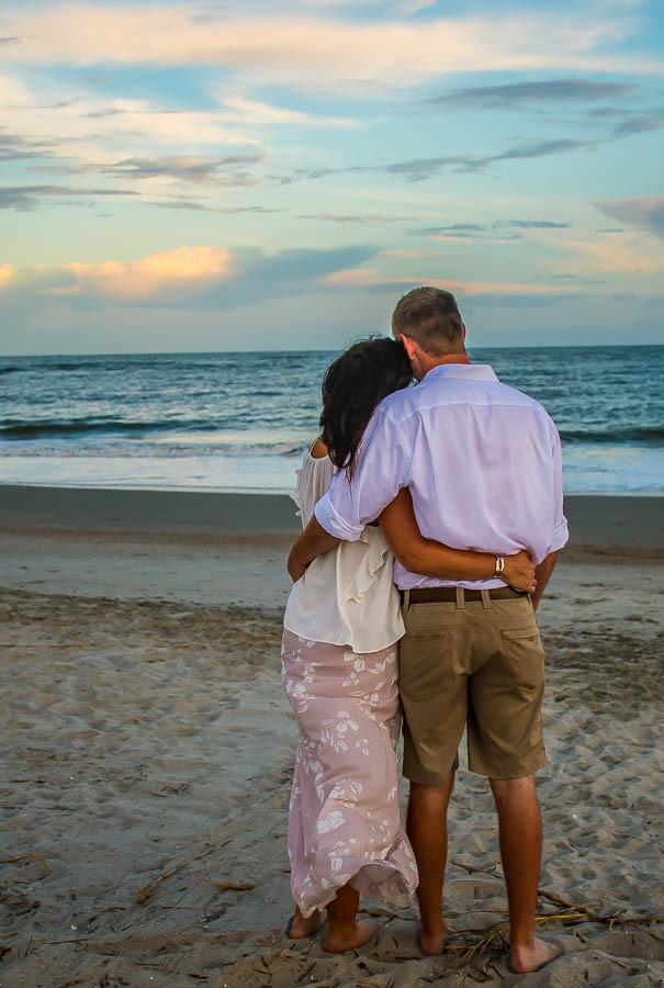 beach elopement isle of palms sc