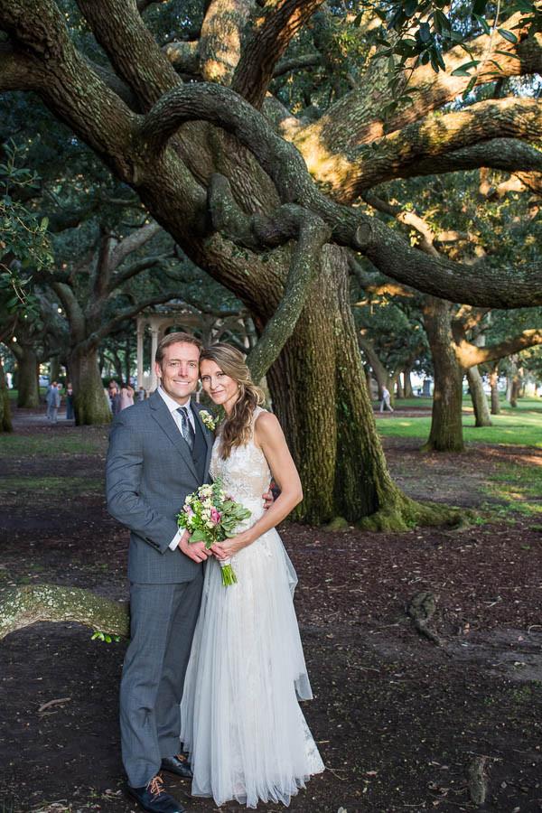 wedding under the trees charleston sc
