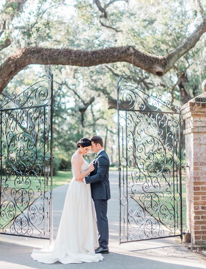 charleston elopement with iron gates