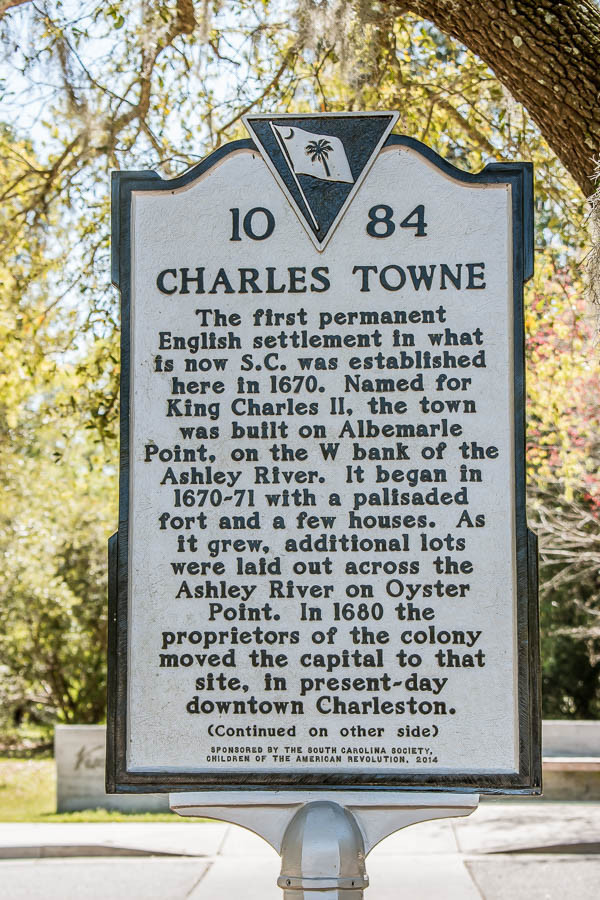 old town plantation front of sign