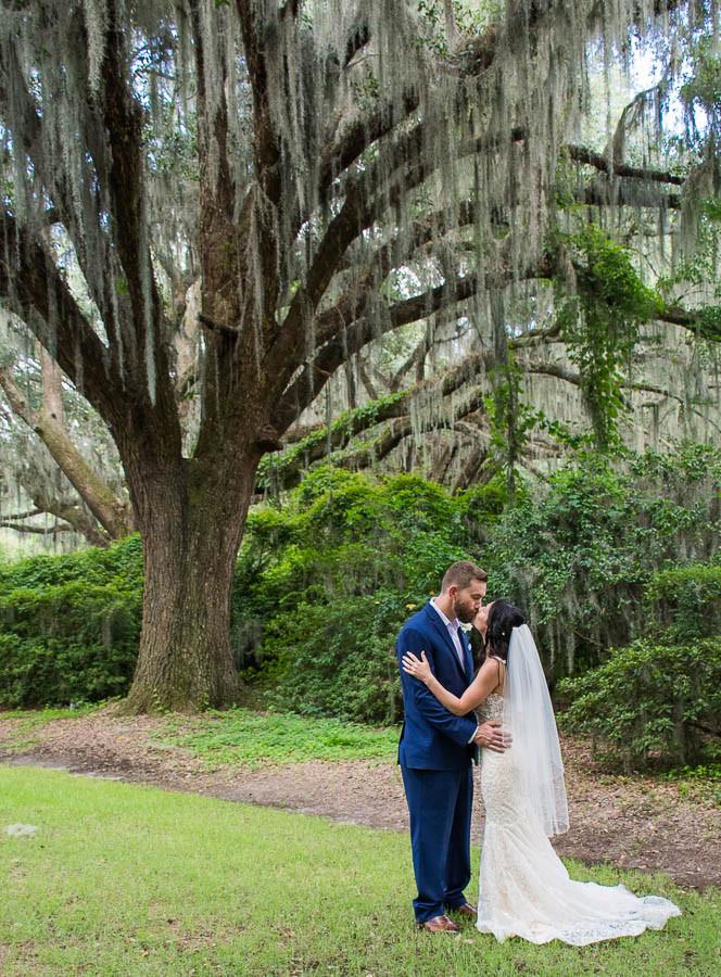 mossy oak trees charleston elopements
