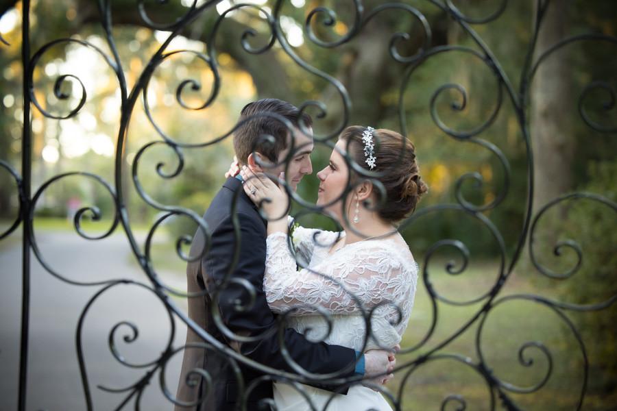 romance through an iron gate