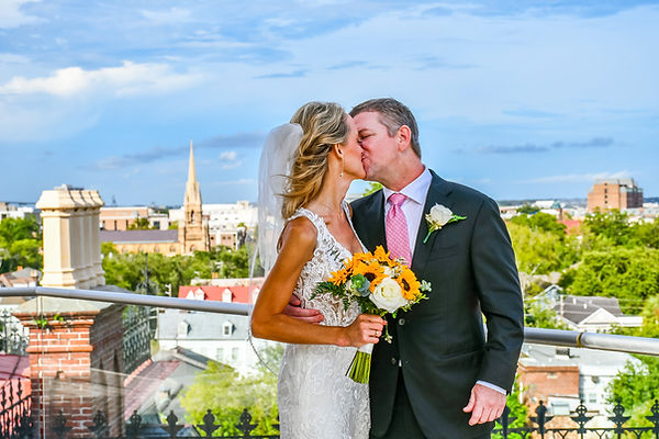 rooftop elopement charleston sc