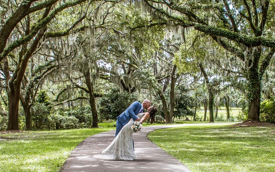 southern romance elopement charleston sc