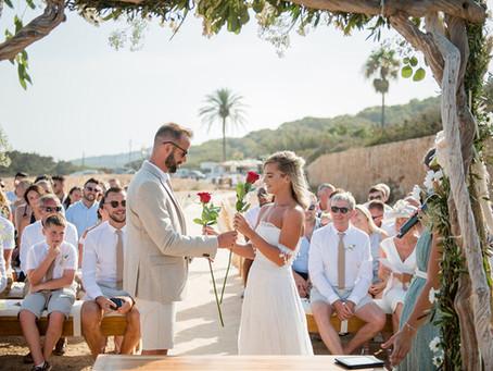 Romantic Rose Ceremony
