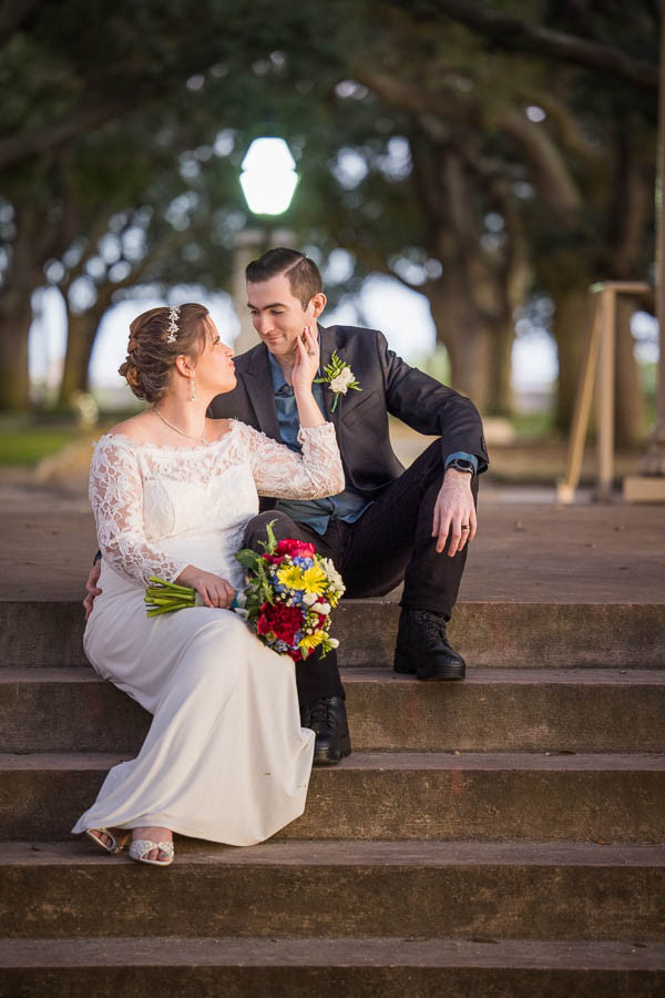 white point gardens elopement package