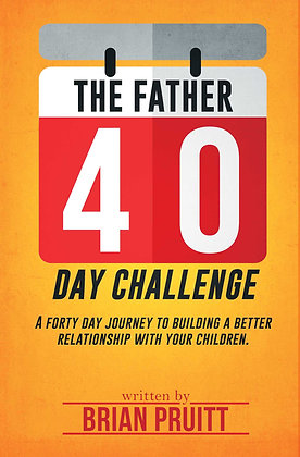 Father 40 Day Challenge Book