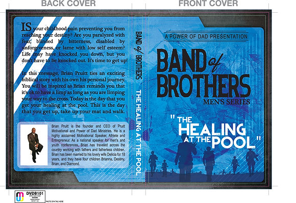 Band of Brothers Series DVD #2 HEALING AT THE POOL