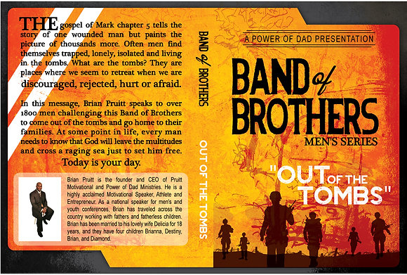 Band of Brothers Series DVD #1 (OUT OF THE TOMBS)