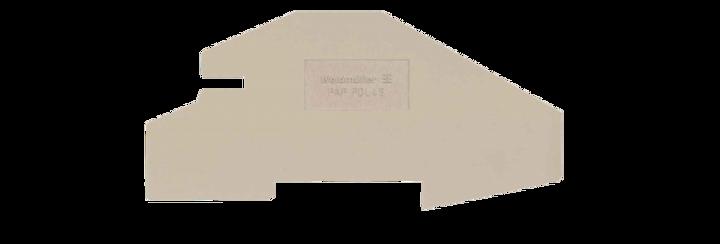 Weidmüller Abschlussplatte PDL (20 Stk.)