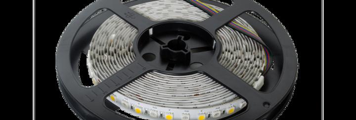 RGBW LED Streifen 5m IP20 (berührungssicher)