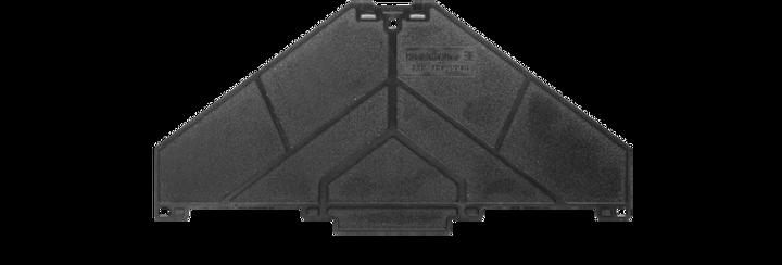 Weidmüller Abschlussplatte P-Reihe (10 Stk.)
