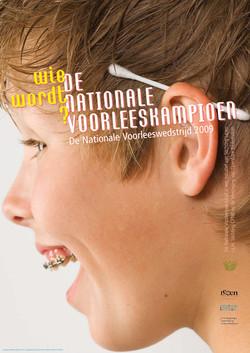Affiches Nationale Voorleeswedstrijd