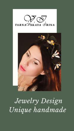Jewetly Design  Irina Tarnavskaya
