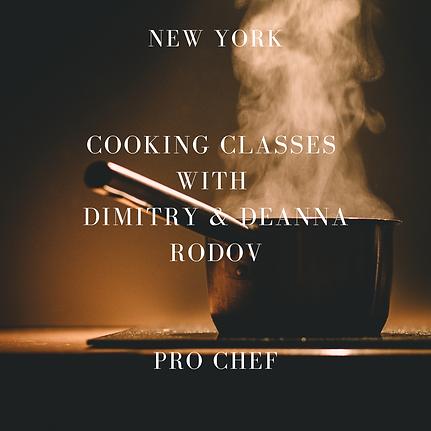 Cooking Class Dimitriy Rodov