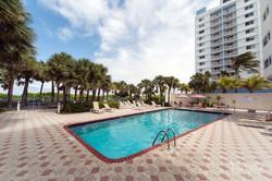 Crystal Beach Fitness Pool Area, Miami Beach
