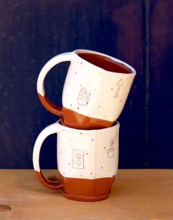 Handbuilt Mugs