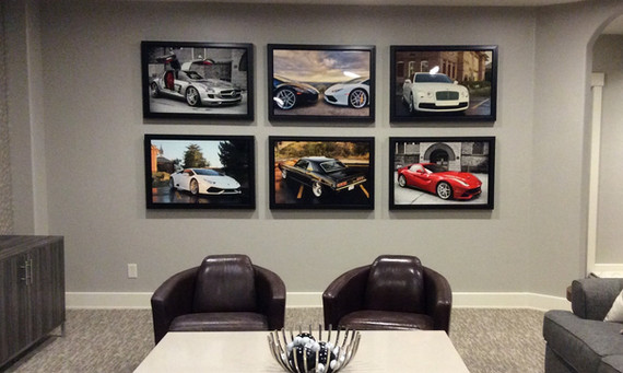 Metal Print Gallery Featuring Autos
