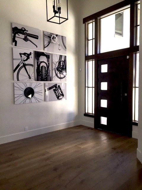Glossy Metal Print Gallery Wall