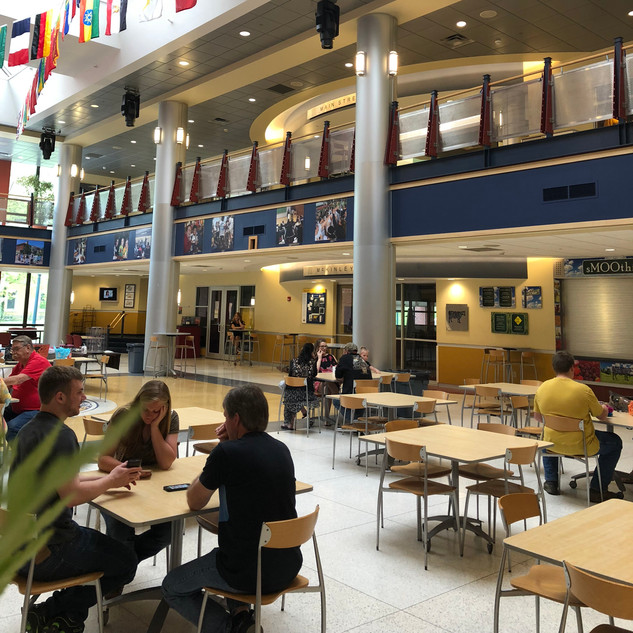 Allegheny College Campus Center Interior