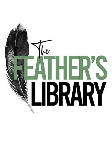 The Feathers Library Logo White BG.jpg