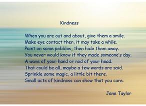 Mental Health Awareness Week ~ Kindness Poem