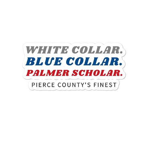 Blue Scholar Sticker