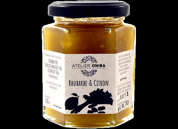 Confiture Rhubarbe - Citron